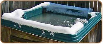 Frozen Jacuzzi