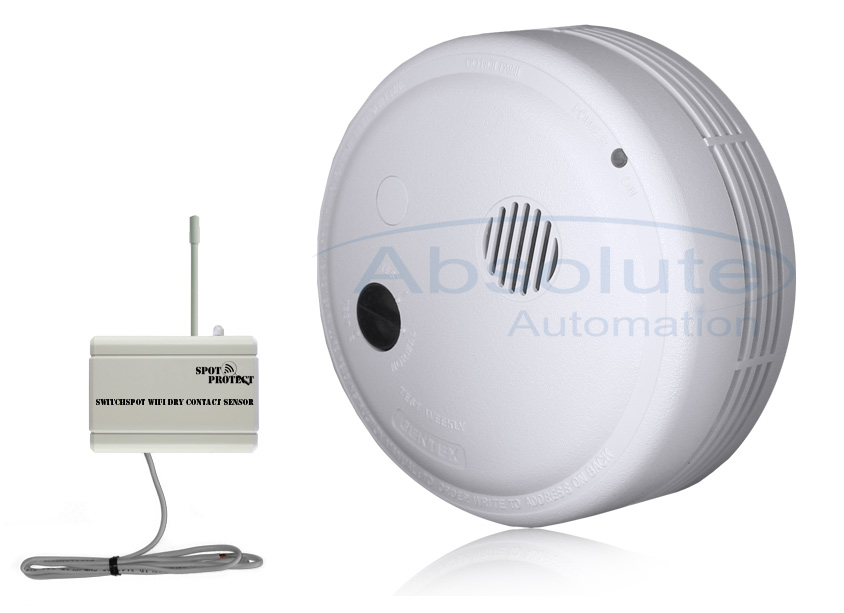 Wifi Smoke Detector Receive Emails And Text Alert From